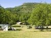 Clos de Bénas, les noyers au cœur du camping –(R-Etienne)