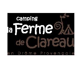 logo camping ferme de clareau